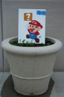 It's Mario by pastonlyfades