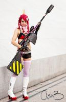Yoko from Gurren Lagann by AshBimages