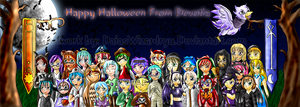 Happy Halloween From Devotia by Daiasita