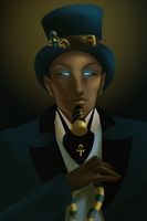 Pharaoh Mobsters in Top Hats by SMachajewski