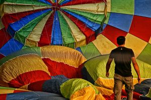 Balloonists  19 by AHMETSOLEY