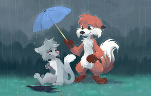 Friends don't leave friends behind - by yassui by Hukley