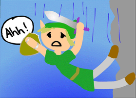 Poor Link by clarinetplayer