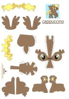 cappuccino papercraft by DryRouteToDevon