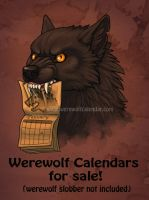 A message from your neighborhood lycanthrope by KatieHofgard