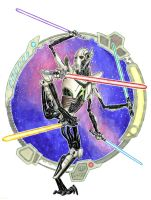 General Grievous - colors by Abramelin