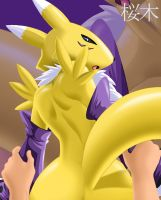 Renamon by randomsakuragi