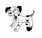 Dalmatian OC Coral by CatDasher