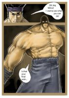 comics page painted v1 by cury
