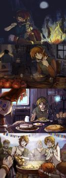 Hungry Link by warningyou