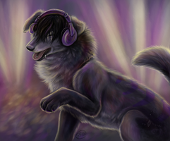 Rocking Out by animalartist16