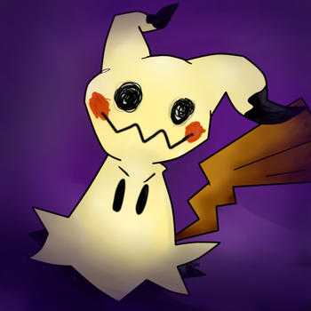 Mimikyu by TheAcrylicKnight