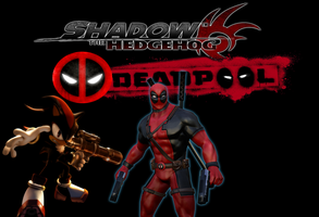 Ultimate Team Up Shadow and Deadpool by CyrilSmith