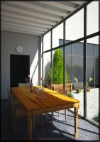 dining space by kripal911