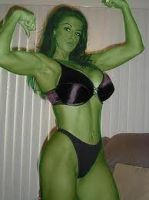 Me as She Hulk by thebestshehulkfan