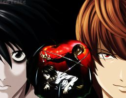Death Note Wallpaper by LeoXleite