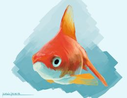 Goldfish by porojj