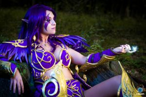 Night Elf - World of Wacraft - Firefly by MayahCosplay