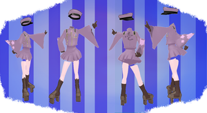 MMD Outfit 23 by MMD3DCGParts
