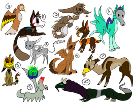 Mixed Adopts - Free+ Points + DTA + Auction - OPEN by P0ry-Adopts