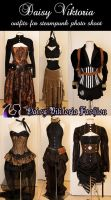 Steampunk Outfits by DaisyViktoria