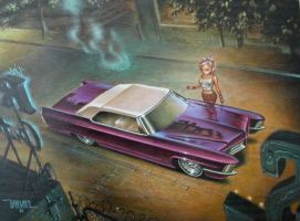 Keith Weesner painting by cadillacstyle
