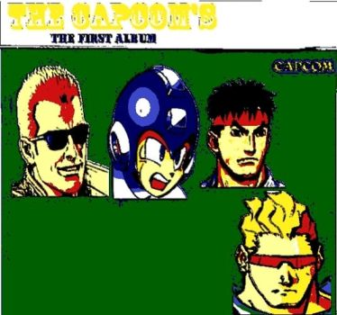 The Capcom's The First Album Pop Art by DevintheCool