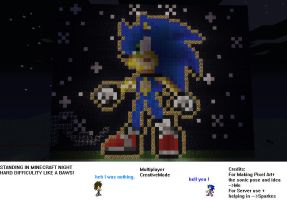 mc MP Mode Sonic Pixel Art by RavTheHedgehog