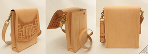 Tooled Book Bag by Marcusstratus