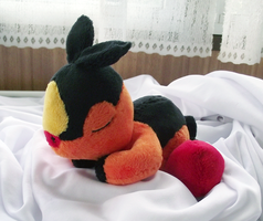Sleeping Tepig by xSystem