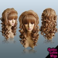 Hime Gyaru Light Brown Wig by GothicLolitaWigs