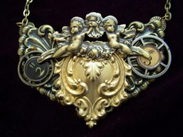 Steampunk Necklace III by SteamPunkJennie