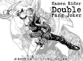 Kamen Rider Double  Fang Joker by Uky0