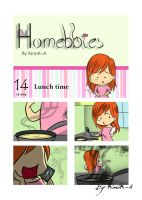 Homebbies 14 Lunch time! by KimiK-A