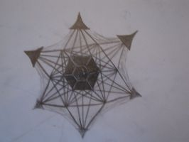 Jeweled Six Point Throwing Star by TapaWmnat