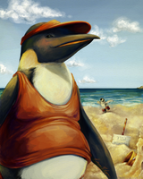 Penguin vacation by DevilsHaven