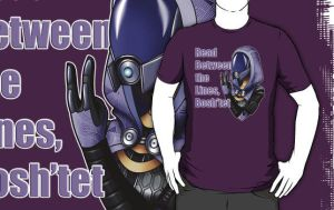 Between the Lines, Bosh'tet - Tali by eclipsedsoul