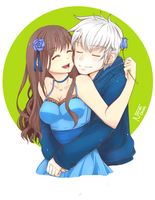 Commission: Darcy and Jack Frost by Nerah-chan