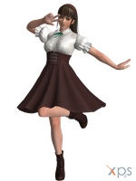 DOA5 Hitomi Costume 57 High Society by rolance