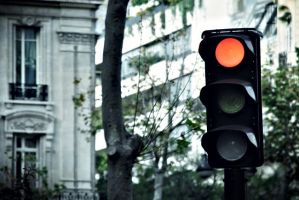 Red light indicates... by GTRacer