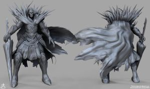 Ice King High Poly Sculpt by DTHerculean
