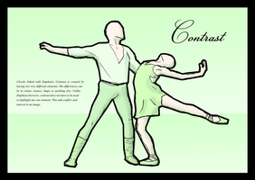 Ballet poster - Contrast by karidyas