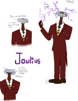 Joulius the Tesla Coil Object Head by Cephei97