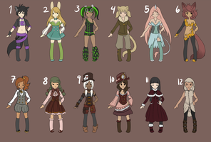 [Open] Random Point Adopts by LateLatte