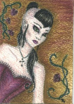 Isabeau - ACEO - SOLD by Orchid-Black