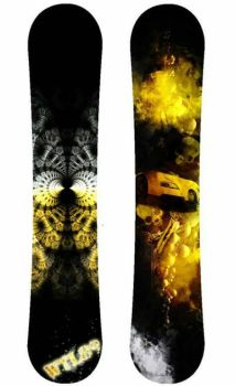 Snowboard table by TattooLady89