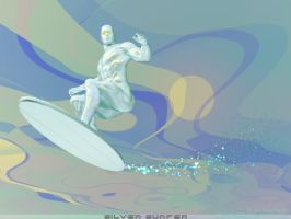 Silver surfer 2 by rlcwallpapers