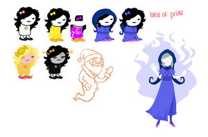 Not a homestuck Oc by PickledCandyPants07
