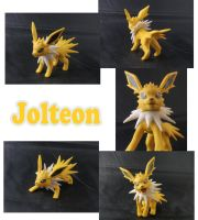 Jolteon Sculpture: Collage by ClayPita