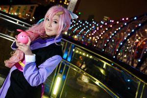 Gundam Seed - Lacus by Xeno-Photography